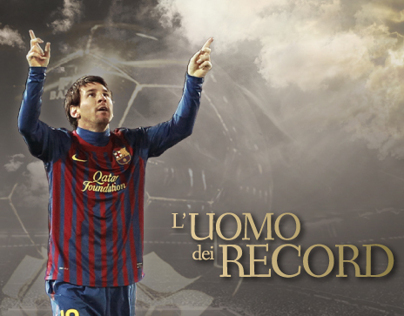 FIFA Ballon dOr - Messi, recordman
