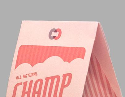 Champ Chomp Dog Treats Packaging