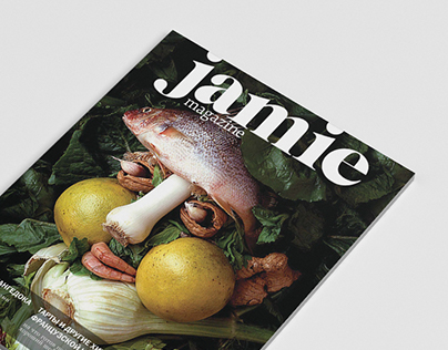JAMIE magazine re-design (student project)