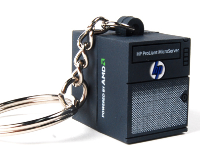 Hp Micro server Promo Keyring
