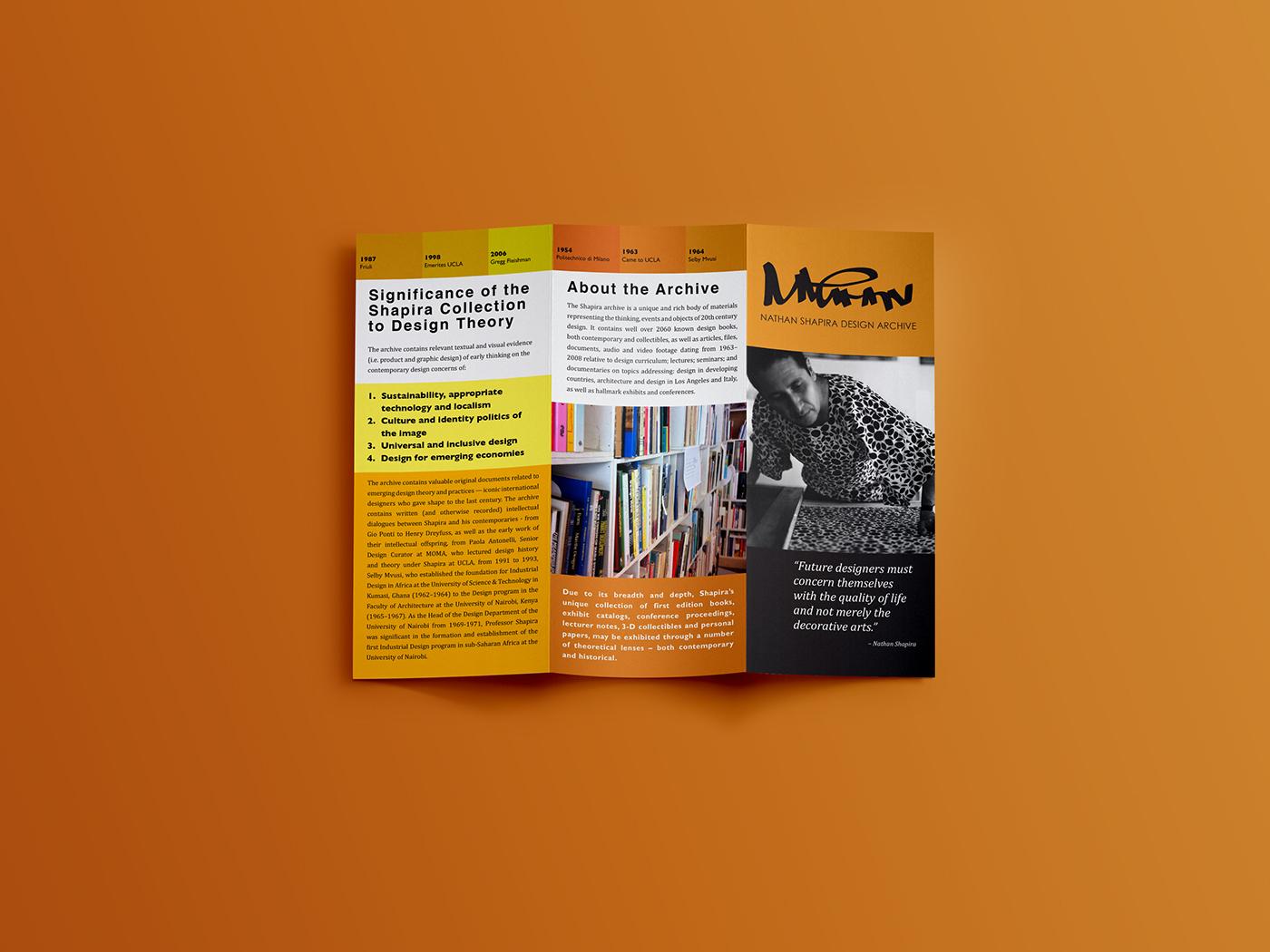 Nathan Shapira Design Archive