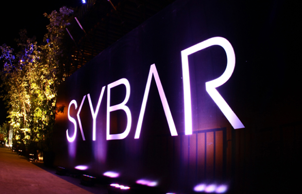 Skybar Beirut . Party Flyers