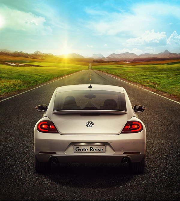 Volkswagen Digital Ads.
