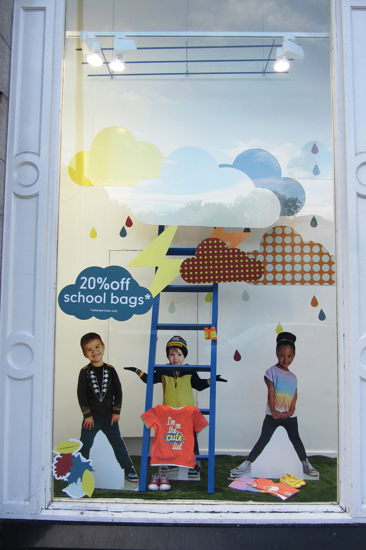 Mothercare Dublin Autumn Window Displays