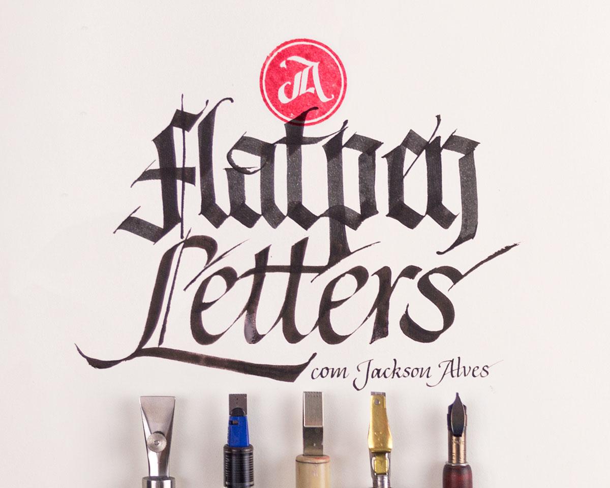 Workshop Flat pen Letters