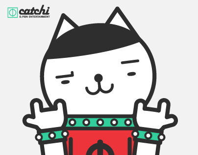 Catchi / rock cat roll