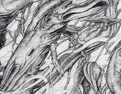 Tree Talk - lines-ism art from china