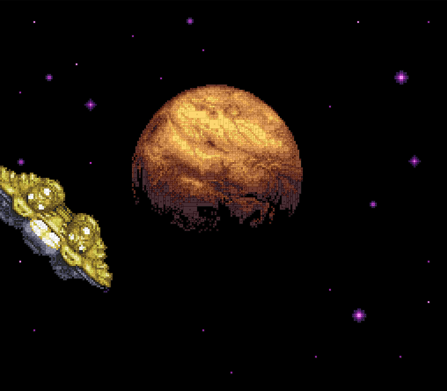 Super Metroid - 16 Bit Vector Recreations