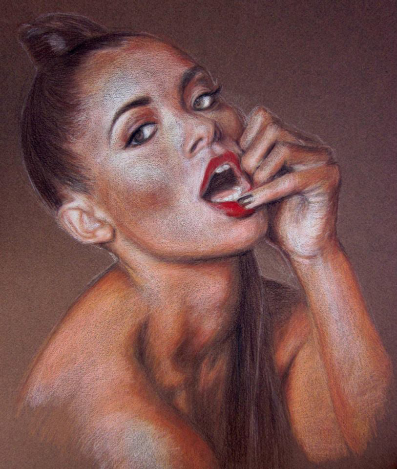 Colored Pencil Drawings