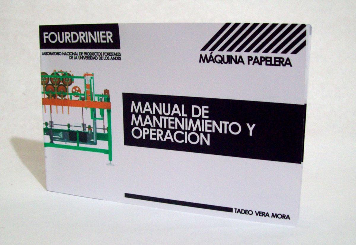 Fourdrinier | Manual de Mantenimiento y Operación