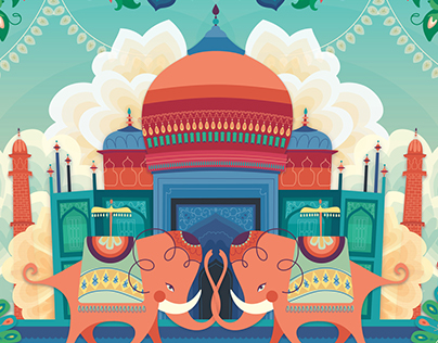 QTEs Indian Illustration