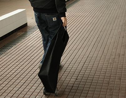 trolly carry-on bag / 2007