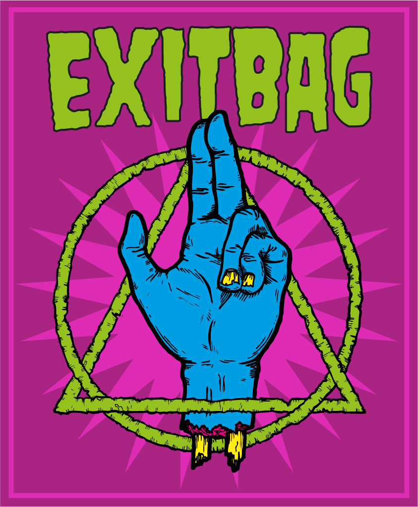 EXITBAG band stuff