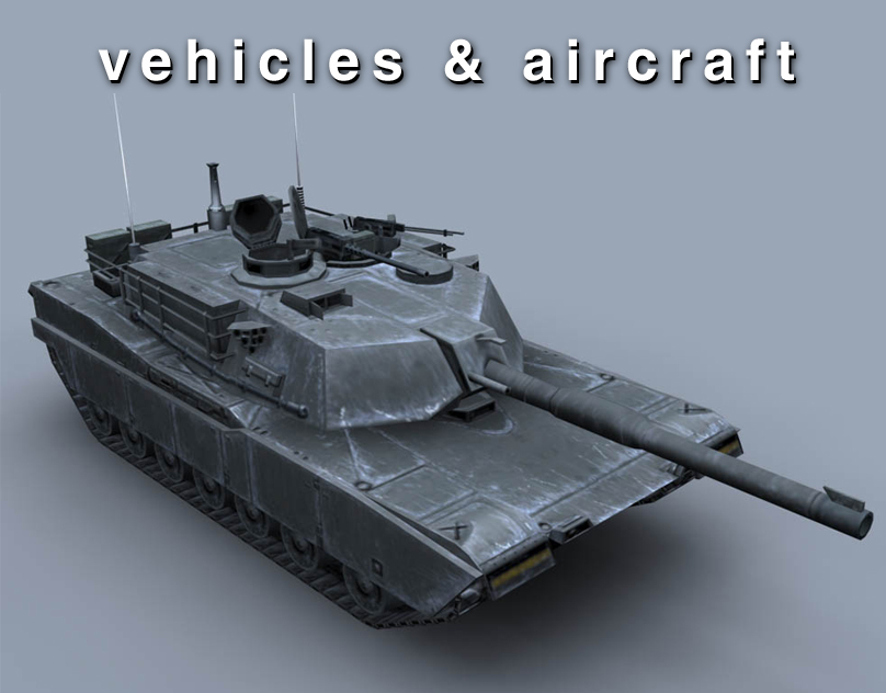 Vehicles & Aircraft 3D Models