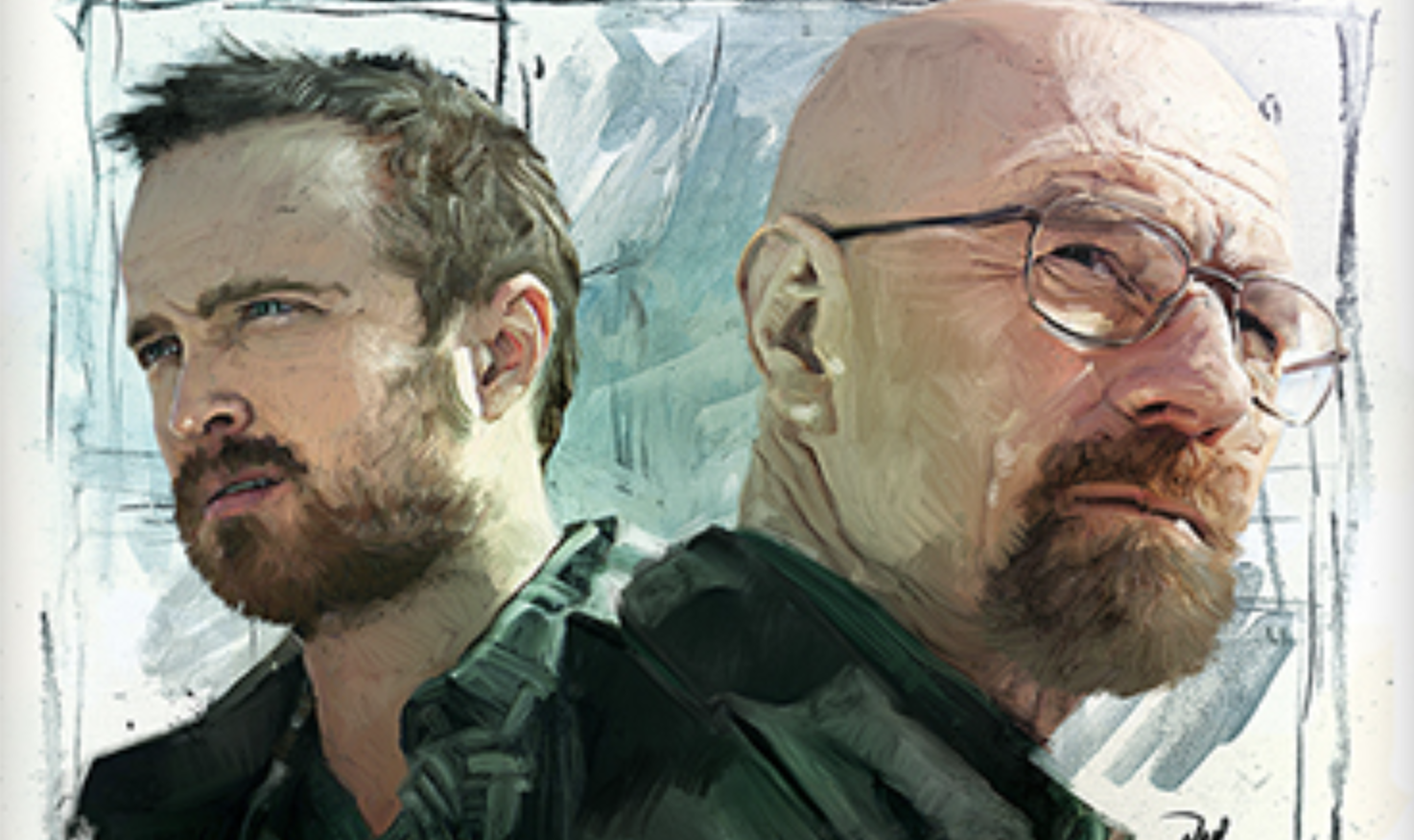 'Goodbye, Mr. White' Art Tribute Breaking Bad