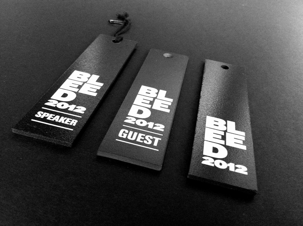 Bleed Across Graphic Design 2012