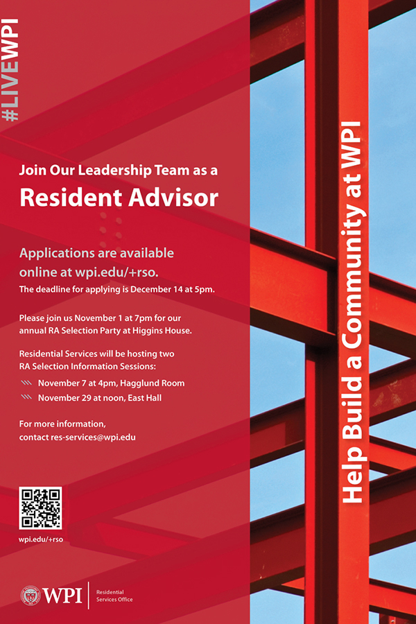 Resident Advisor Recruitment