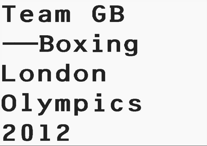 Team GB Boxing Squad / London Olympics 2012