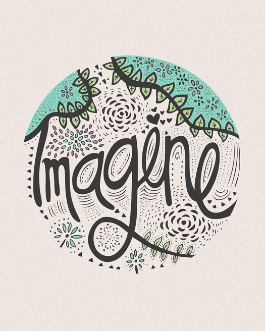 Typography Illustrative Artwork