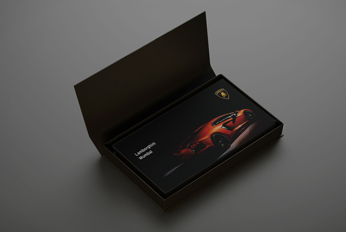 Lamborghini Aventador -Launch Invite 2012
