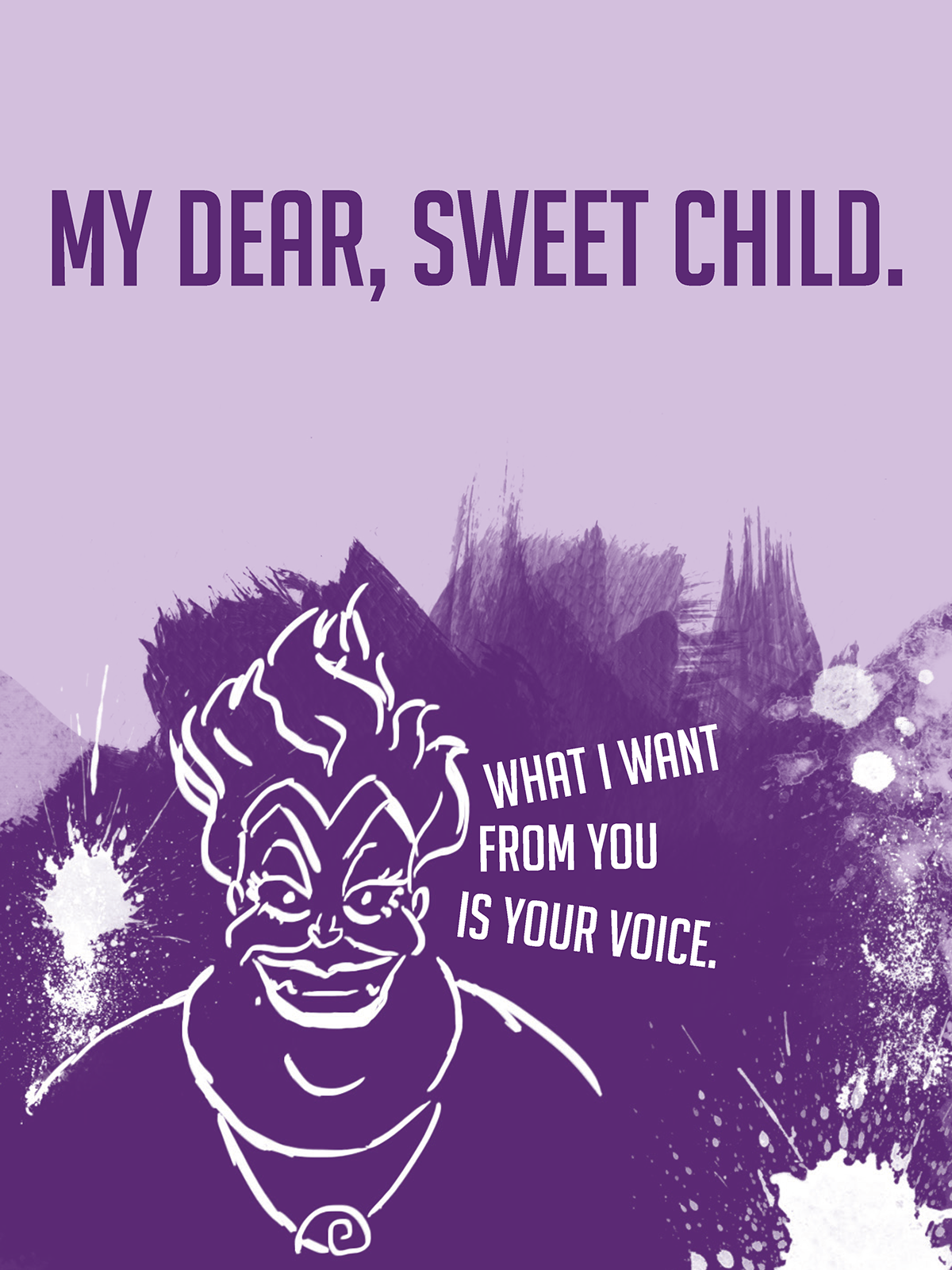 Disney Villain Posters