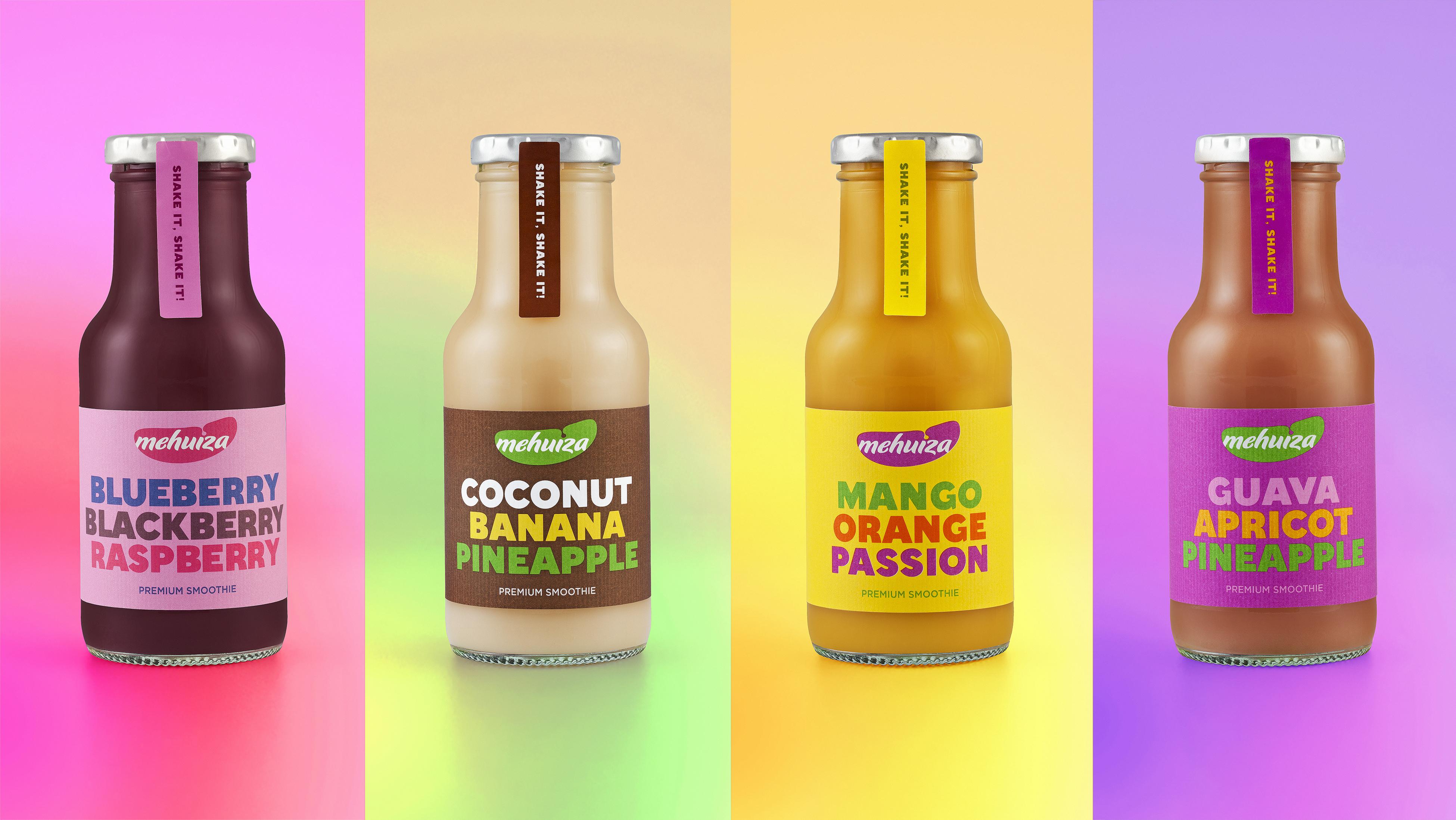 Packaging Design - Mehuiza Premium Smoothie