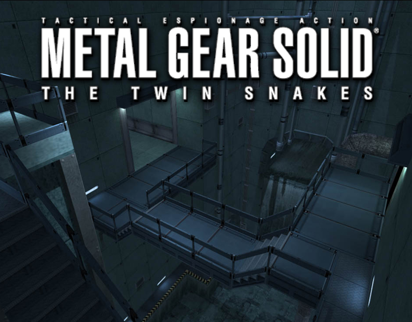 Metal Gear Solid: Twin Snakes (2004) Enviro Art