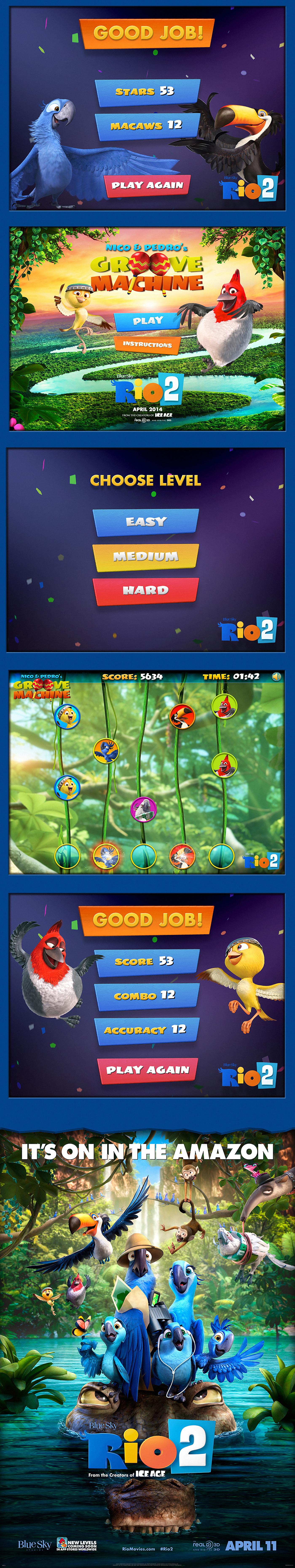 RIO2 - HTML5 Games