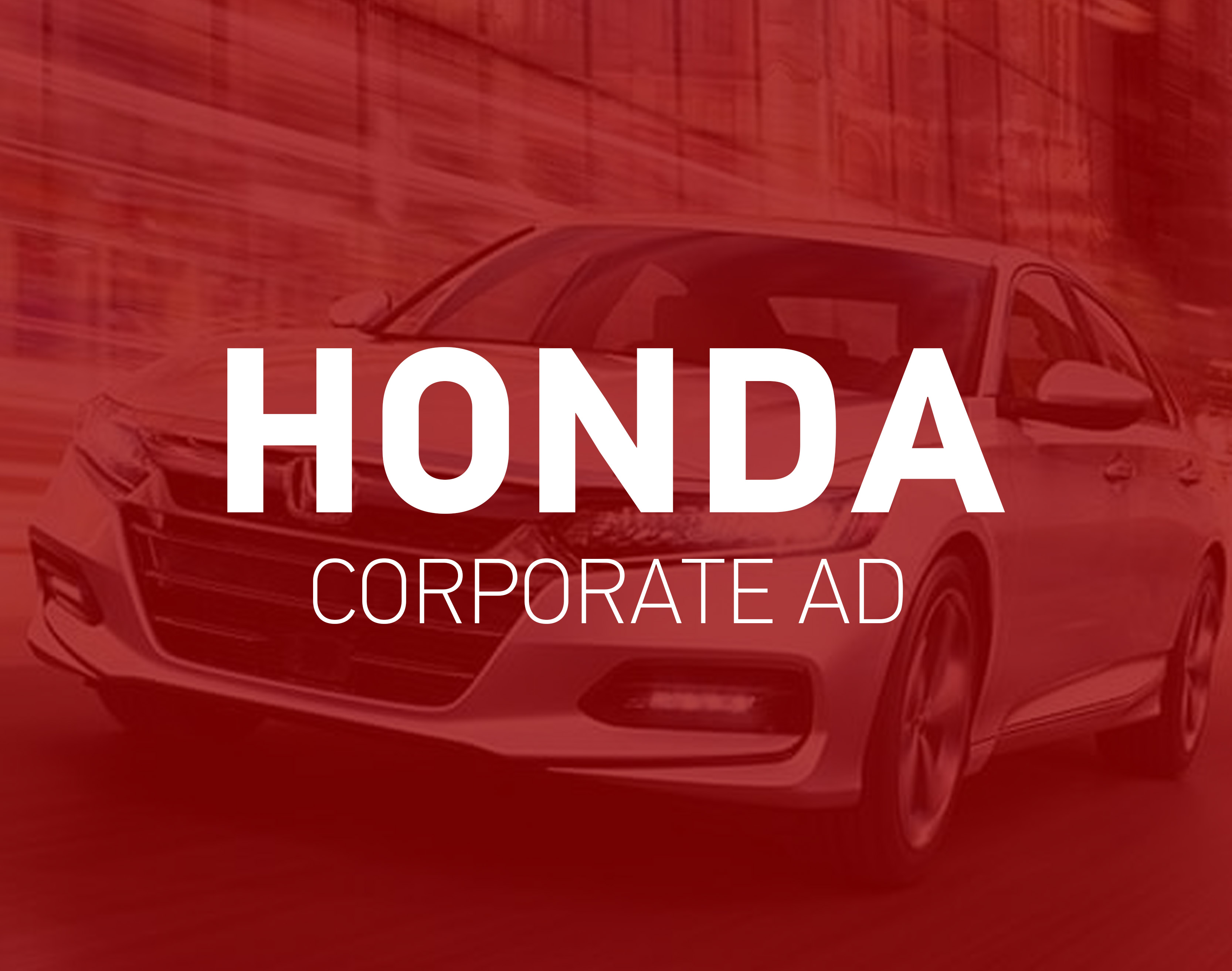 Honda Corporate Ad