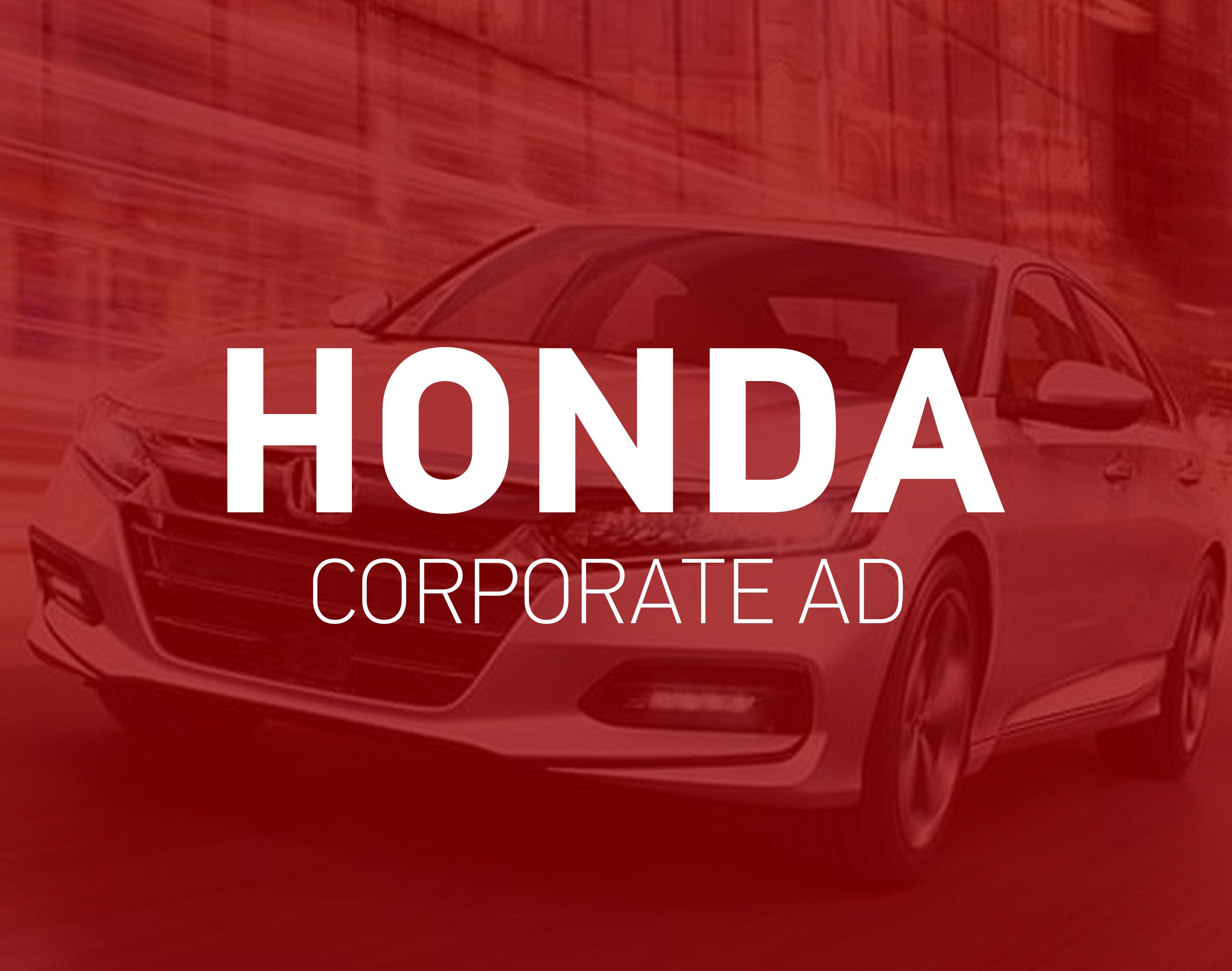 Honda Corporate Ad