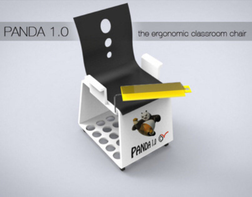 Design and fabrication of classroom chair... PANDA 1.0