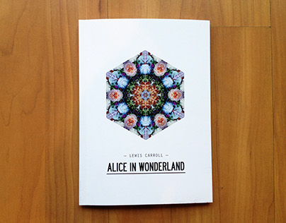 Alice in Wonderland - Book Design