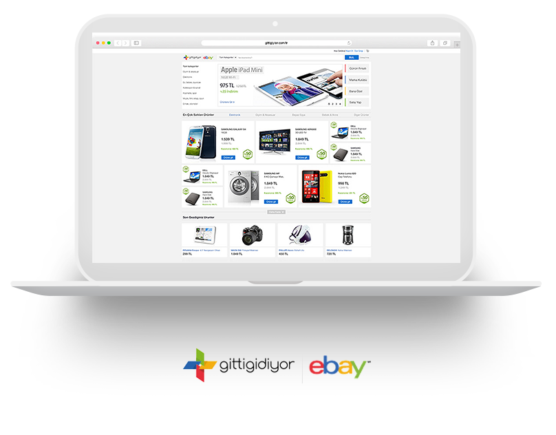 ReDesign - eBay Turkey