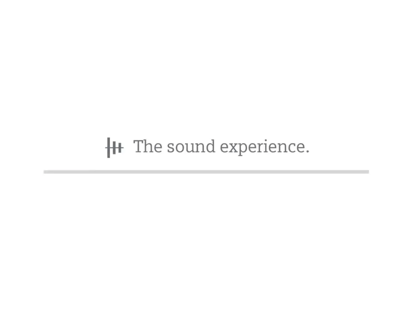 The Sound Experience. Siemens. Interactive