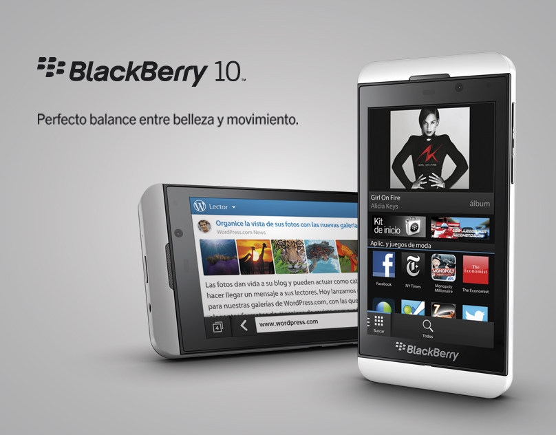 BLACKBERRY CLARO