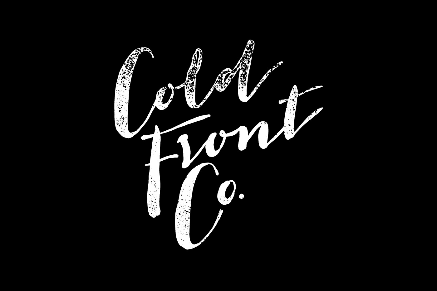 Cold Front Co. - Naming and Brand Identity
