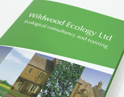 Wildwood Ecology brochure design