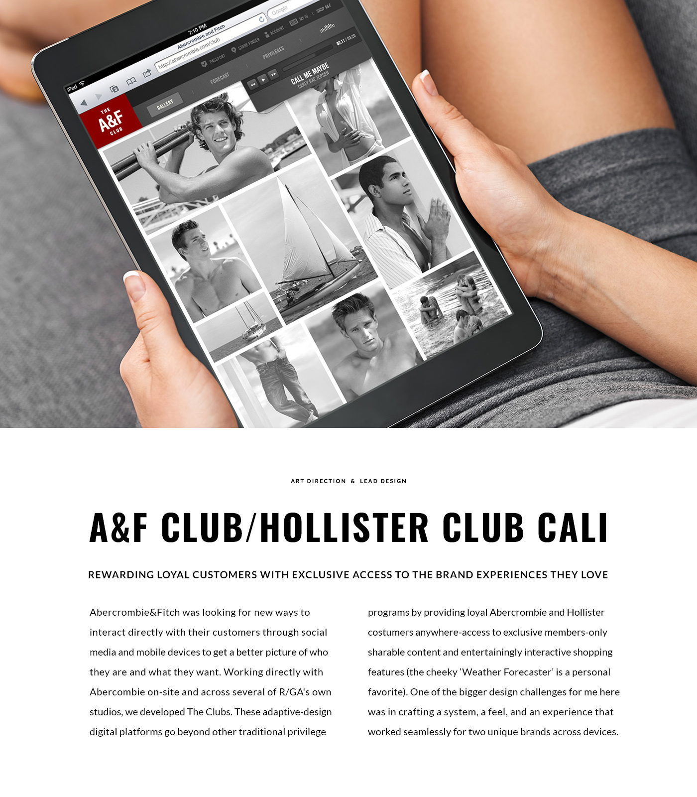 A&F Club /  Hollister Club Cali