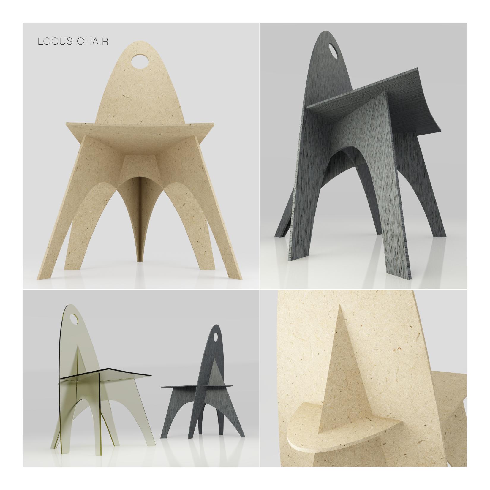 Locus Chair Design