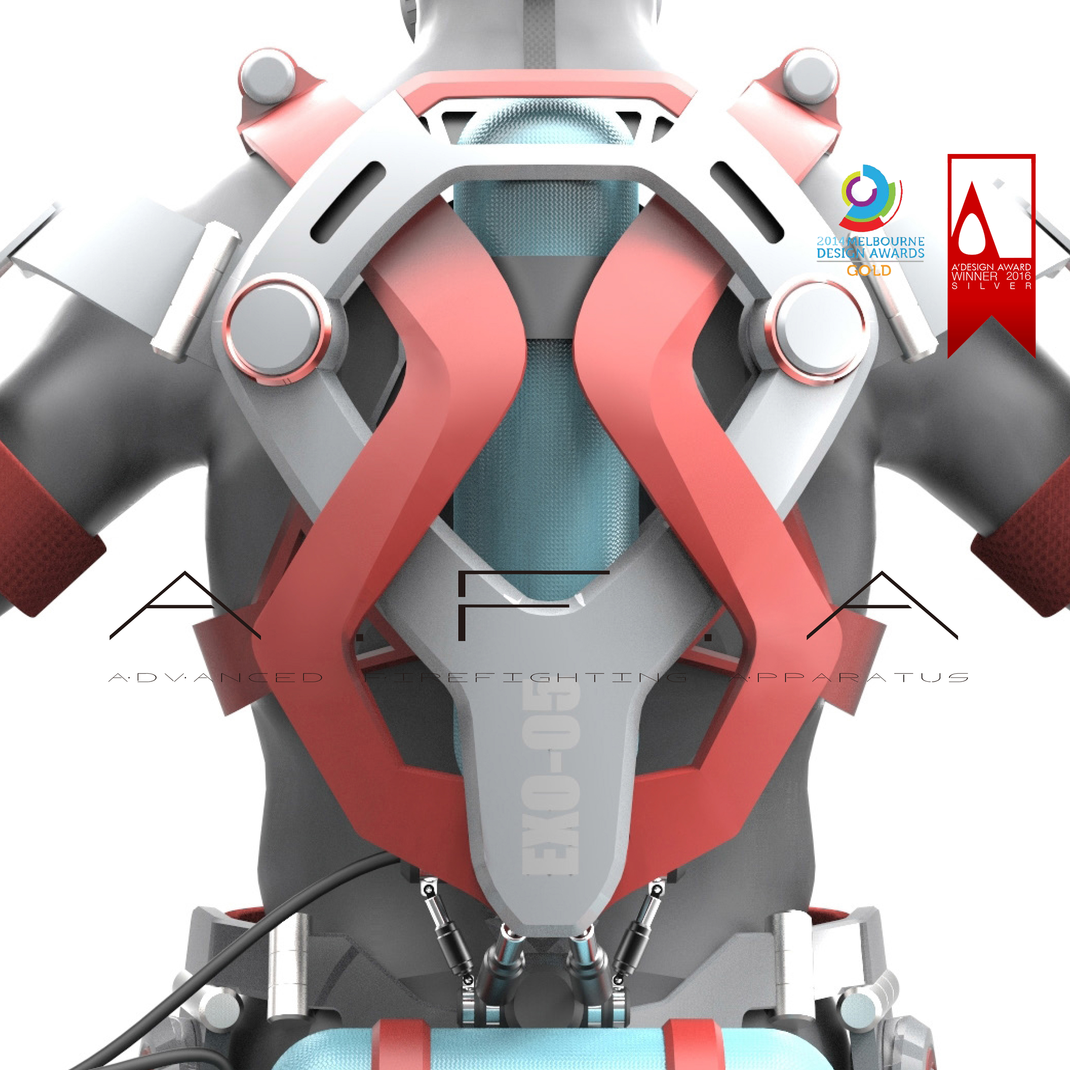 A.F.A.-Powered Exoskeleton Suit for Firefighter