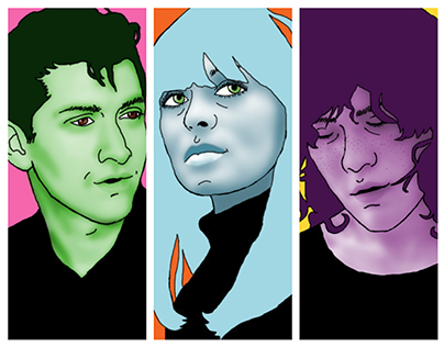 Colorful Rock Stars