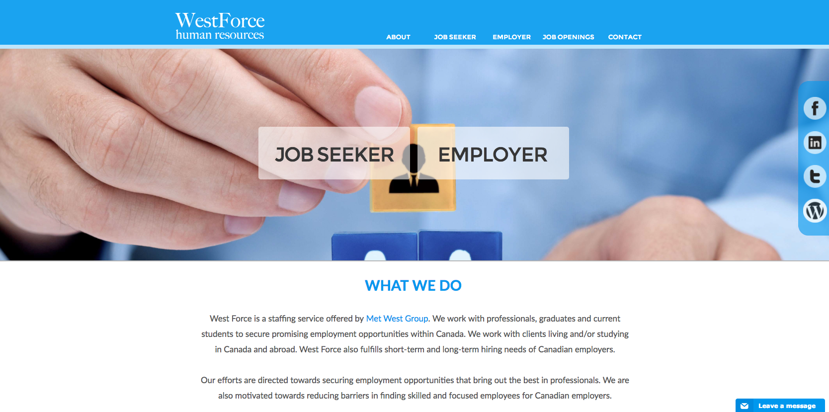 WestForce Human Resources Canada