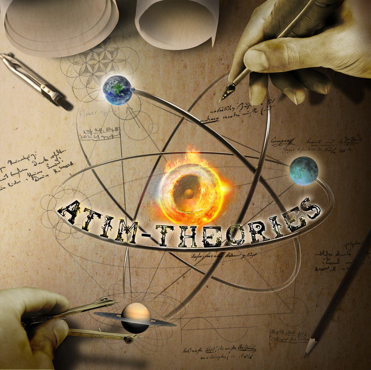 Atim - Theories (Album artwork)