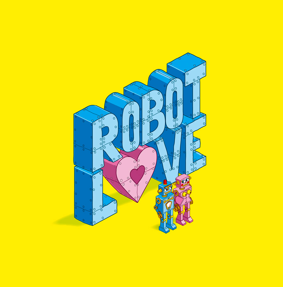 Robot Love - Character Illustration