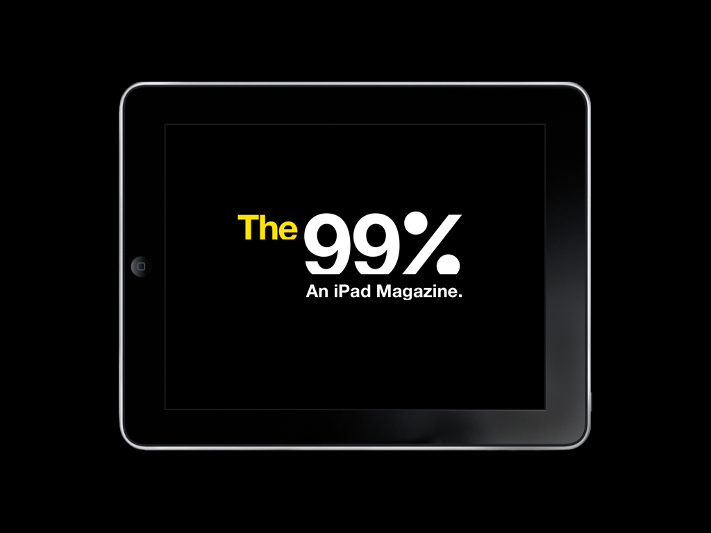 The 99%: An Ipad Magazine (Proposal)