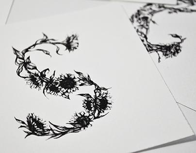 PLANT TYPOGRAPHY / ALPHABET