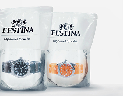 Festina Profundo - The Diver's Watch in Water Packaging