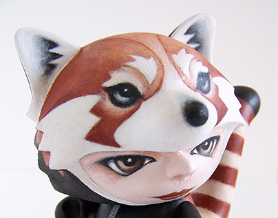 Munnyworld Customs: Red Panda