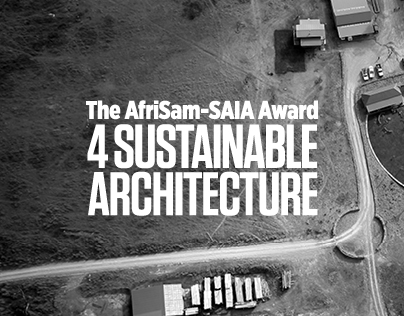 AfriSam-SAIA Award 4 Sustainable Architecture