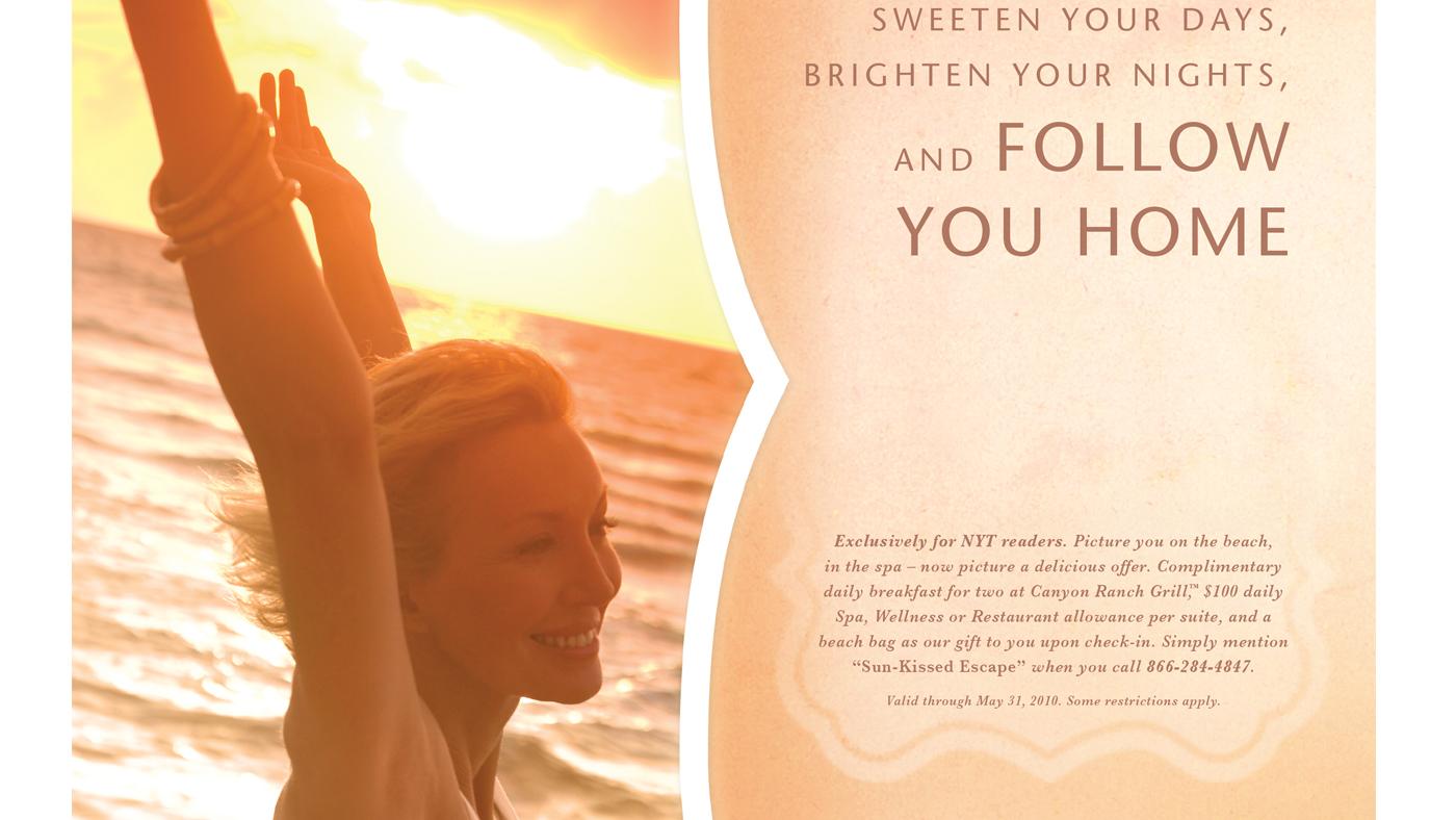 Canyon Ranch Miami Beach Hotel & Spa Ads